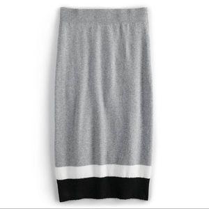 Cara Santana x Apt 9 Colorblock Sweater Skirt